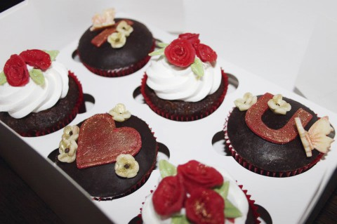 Süss, bunt, elegant und lecker. Krizia's Cupcakes